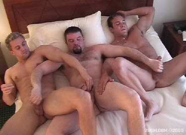 Straight guys having sex with gay man